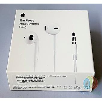 Original MD827 Apple A1472 EarPods Headset Headphone in new packaging - white