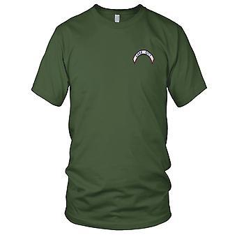 Lake City Shoulder Rocker Embroidered Patch - Mens T Shirt