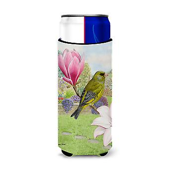European Greenfinch Ultra Beverage Insulators for slim cans