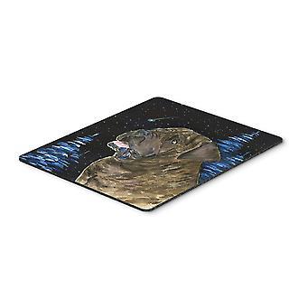 Carolines Schätze SS8463MP Sternennacht Mastiff Mousepad / Hot-Pad / Untersetzer