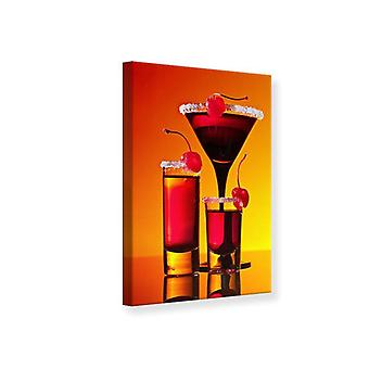 Canvas Print Kirsche cocktail