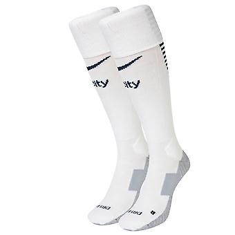 2016-2017 man City Nike Home sokken (wit)