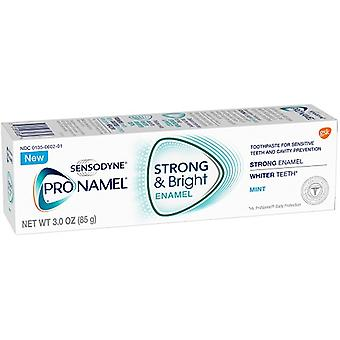 Sensodyne Pro-émail Strong & lumineux Mint dentifrice 2 Tube Pack