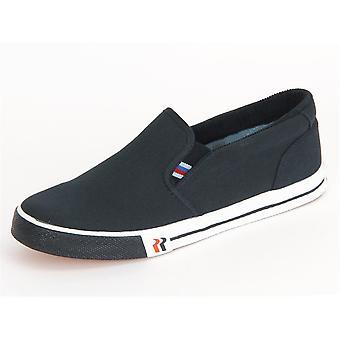 Romika Laser Blau Leinen 2000270500 mænd sko