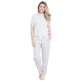 Cyberjammies 3693 Beetrix grau einfarbig Pyjama Pyjama Tank Top Frauen