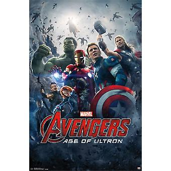 Marvel Avengers 2 Age of Ultron - One Sheet Poster drucken