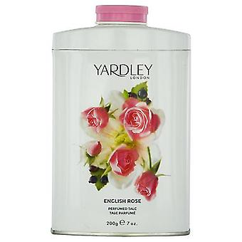 Yardley By Yardley English Rose Talc 7 Oz (New Packaging)
