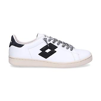 Lotto men's T811WHITE White leather of sneakers