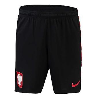 2018-2019 Poland Nike Squad Training Shorts (Black) - Kids