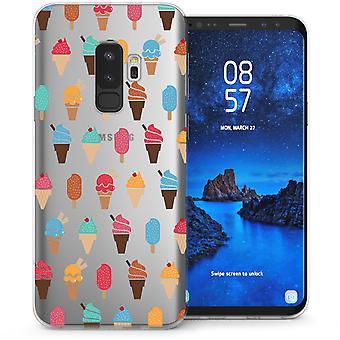 S9 Samsung Галактика плюс крошечный мороженое гель ТПУ - очистить