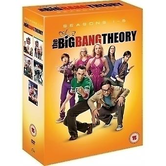The Big Bang Theory (big bang teorien) årstider 1-5 (16 plater) (DVD)