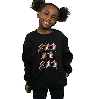 Black Sabbath Girls Sabbath Bloody Sabbath Sweatshirt