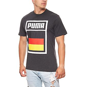 PUMA men's sport shirt football Germany World Cup 2018 grayscale