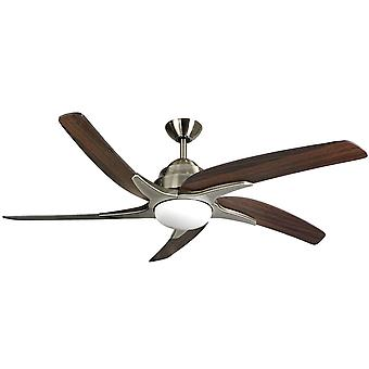 Ceiling Fan Viper Plus Brass / Dark Oak 137 cm / 54