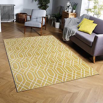 Havana 192Y gele rechthoek tapijten moderne tapijten