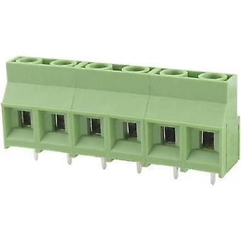 Degson DG950-9.5-02P-14-00AH Screw terminal 5.26 mm² Number of pins 2 Green 1 pc(s)