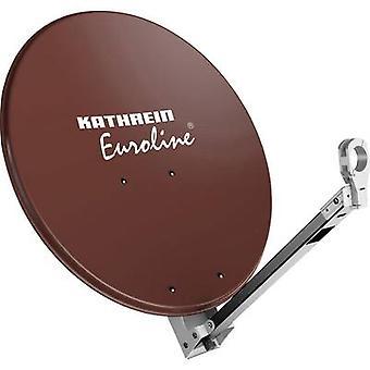 Kathrein KEA 850 SAT antenna 85 cm Reflective material: Aluminium Red brown
