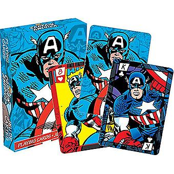 Captain America Set Of Playing Cards (52278)