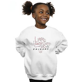 Freunde-Mädchen lieben lachen Sweatshirt