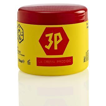 3P Pre & innlegget barbering krem - 500ml