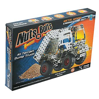 ナットとボルトのプロのビルダーすべて地形ダンプ トラック