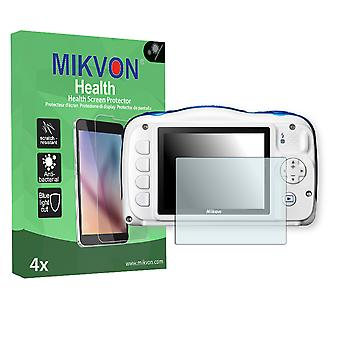 Nikon COOLPIX W100 Screen Protector - Mikvon Health (Retail Package with accessories)