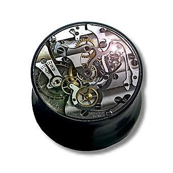 Oreille Plug, Piercing, bijoux de corps, mécanisme d'horlogerie | 6 - 16 mm