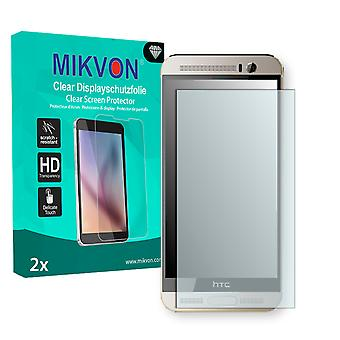 HTC One M9 Plus Screen Protector - Mikvon Clear (Retail Package with accessories)