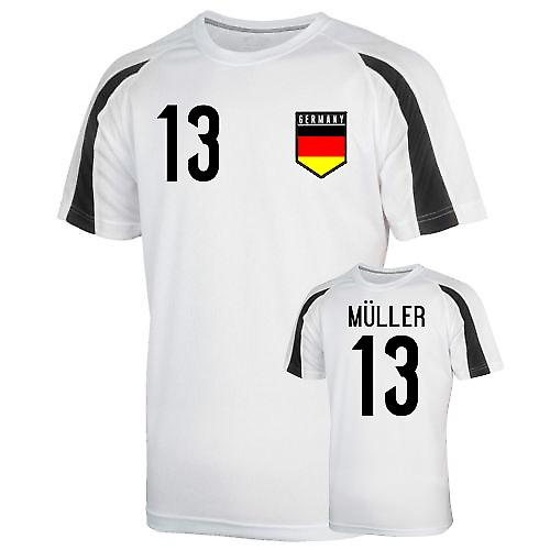 Germany Sports Training Jersey (muller 13)
