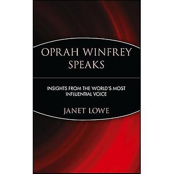 أوبرا وينفري تتحدث-البصيرة من صوت الأكثر نفوذا في العالم