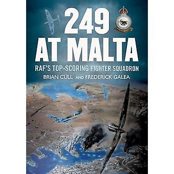 249 à Malte - Raf de cotation Top Fighter Sqdn par Brian Cull - Fred
