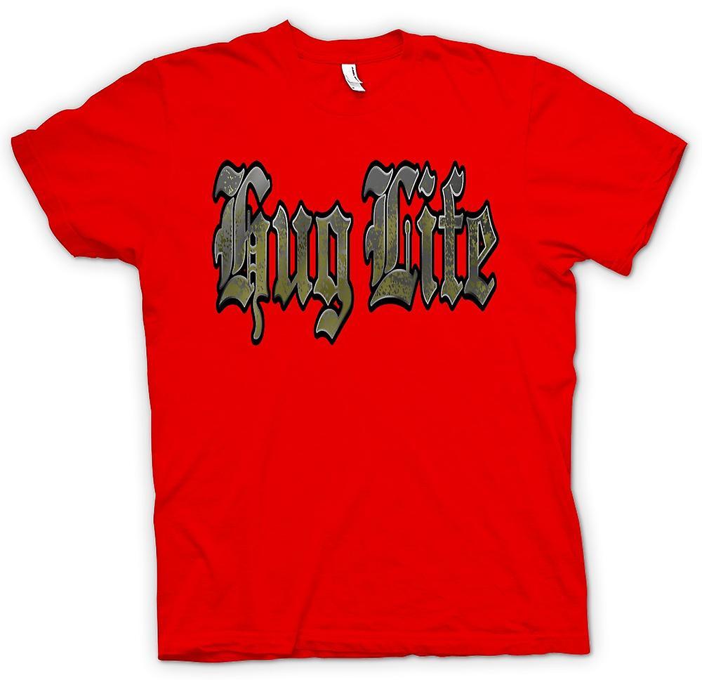 Mens t-skjorte - klem liv - Gangster - Funny