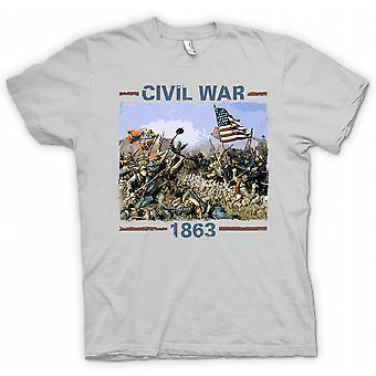 Mens T-shirt - American Civil War 1863 - War Inspired