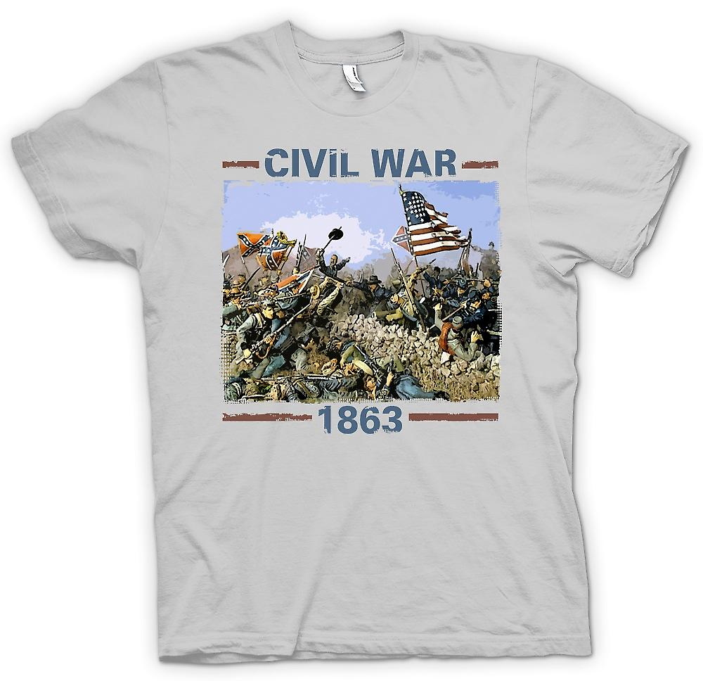 Mens T-shirt - American Civil War 1863 - War Inspired