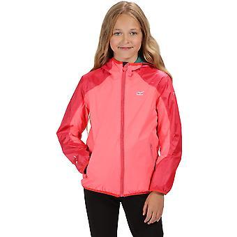 Regatta Boys & Girls Teega II Hooded Waterproof Jacket