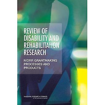 Überprüfung der Disability and Rehabilitation Research