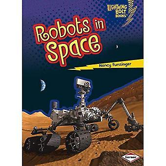 Robotar i rymden (Lightning Bolt böcker robotar överallt!)