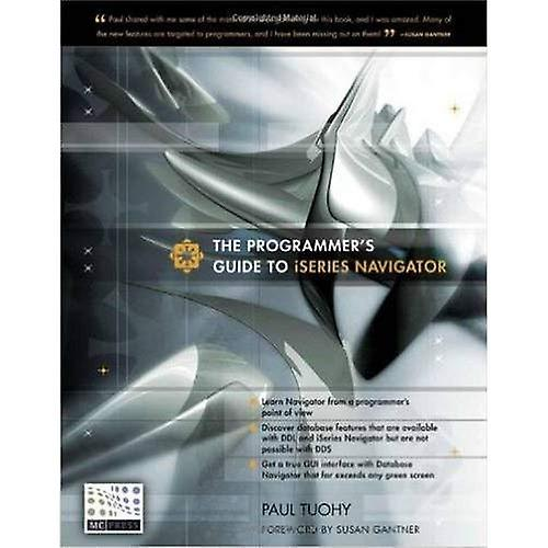 The Programmer& 039;s Guide to iSeries Navigator
