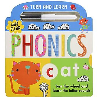 Turn and Learn Phonics [Board book]