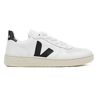 Veja V-10 Extra White / Black Trainers