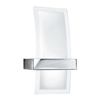 Krom og glas LED væglampe - projektør 5115-LED