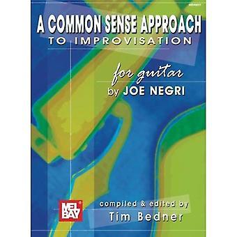A Common Sense Approach to Improvisation pour guitare