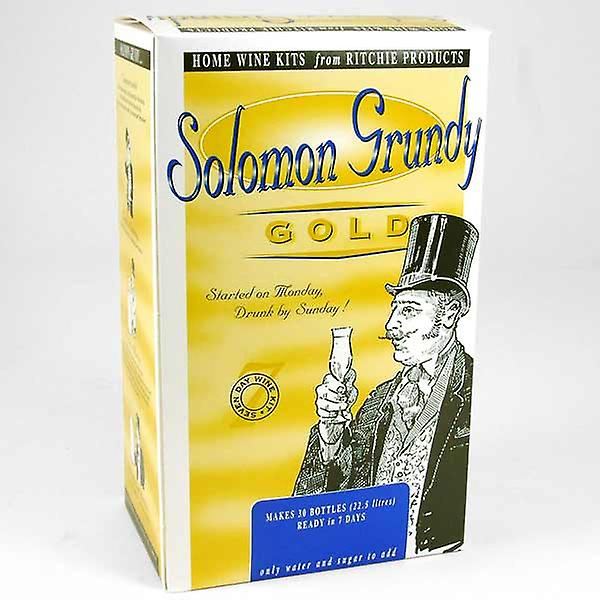 Solomon Grundy Gold - Merlot - 30 Bottles