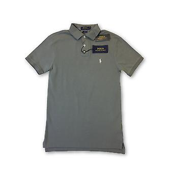 Ralph Laren Polo lim fit polo in grey