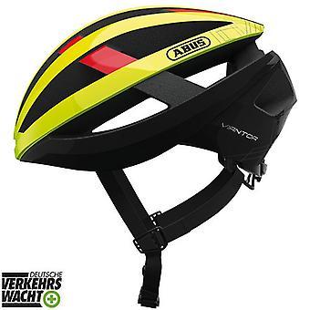 Abus Viantor bike helmet//neon yellow