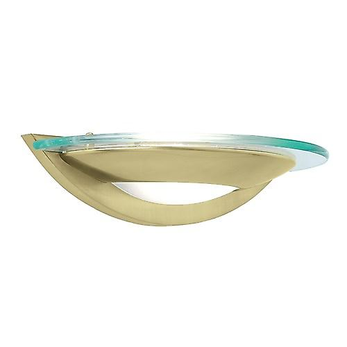 Endon 051-WBSB Modern Satin Brass Halogen Wall Washer Light