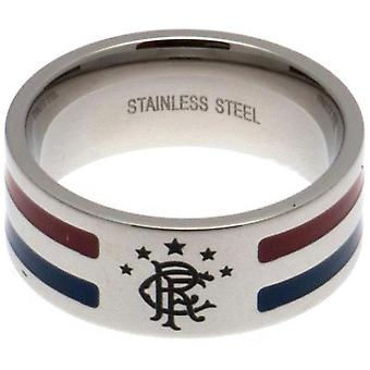 Rangers FC Colour Stripe Ring