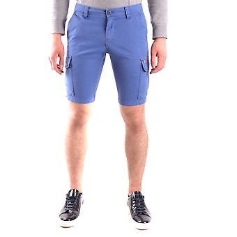 Powell Blue Cotton Shorts