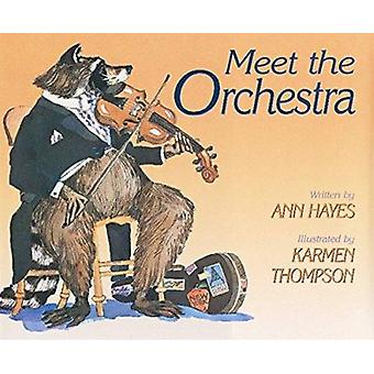Meet the Orchestra by Ann Hayes - Karmen Thompson - 9780152002220 Book