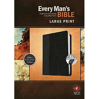 Every Man's Bible NLT - Large Print - Tutone by Stephen Arterburn - 9